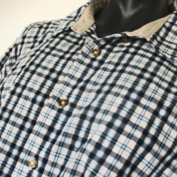 Wrangler Other - Wrangler Men's Western Shirt Sz 3X Blue Black Plai